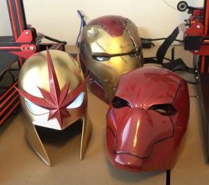 3d printed cosplay helmets