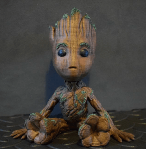 Groot - 3d printer for cosplay image 2