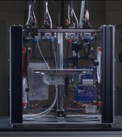E3d toolchanger printer